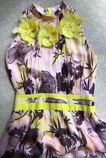 Matthew Williamson Mainline Floral Silk Dress Size 10 REDUCED!
