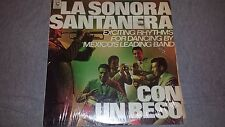 SONORA SANTANERA - CON UN BESO EXCITING RHYTHMS - CAYTRONICS 1084 LATIN LP