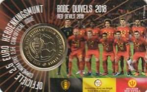 België 2018 Coincard 2 1/2 euro - Rode Duivels (nederlands)