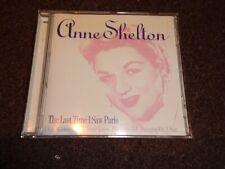 CD ALBUM - ANNE SHELTON - THE LAST TIME I SAW PARIS