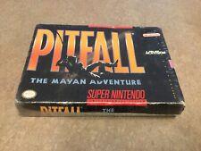 Pitfall Mayan Adventure (Super Nintendo Game ) Factory Sealed