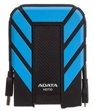 AData HD710 Shockproof 2TB 2.5in USB3 Portable HDD Blue