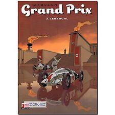 Grand Prix 3 HC Lebewohl  Zack Marvano 9783864621222  RENNFAHRER COMIC 40er LP