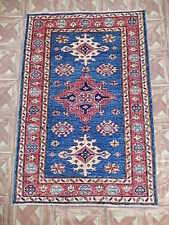 3x5 Nursery Handmade Super Kazak Carpet Area Rug