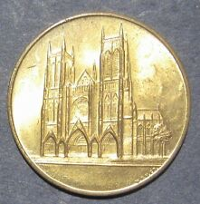 The Cathedral Church of St. John The Divine New York Medal Take a Look