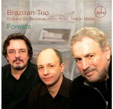 LIKE NEW! Brazilian Trio (Da Fonseca, Alves, Matta): Forests (CD) FREE SHIPPING