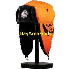San Francisco Giants 60th Anniversary Two Flaps Down Cap 4/27/18 SGA Hunting Hat