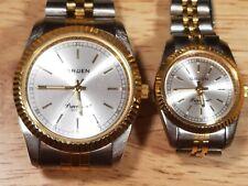 Matching Men's & Women's Vintage Gruen Precision Watches
