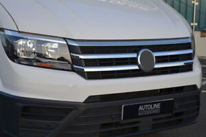 Chrome Front Grille Accent Trim Set Covers To Fit Volkswagen Crafter (2017