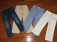 Polo Ralph Lauren Gymboree Janie and Jack Zara Pants Jeans 4 Boys Lot of 4