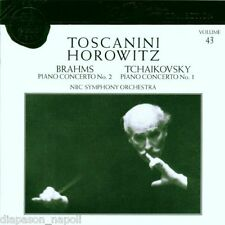 Toscanini Collection Vol. 43 - Brahms: No.2; Tchaikovsky No.1 Horowitz - CD