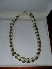 Hawaiian 90 % Authentic Niihau Shell Necklace Rare! Niihau Shells
