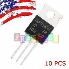 """10 x IRF9540 P-Channel Power MOSFET 23A 100V TO-220 """"IR"""""""