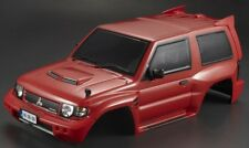 Killer Body RC Truck Body Shell 1/10 MITSUBISHI PAJERO EVO -PAINTED- RED