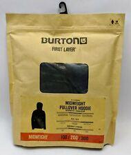 Burton MD Midweight Hoodie Lowland Camo Sweatshirt Mens