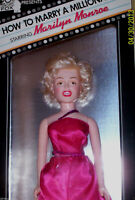 """1982 Tristar MARILYN MONROE 16"""" DOLL How to Marry a Millionaire-Never out of Box"""