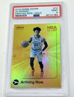 Ja Morant 2019 Panini Hoops Arriving Now Holo Rookie RC PSA 9 MINT Grizzlies