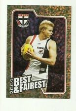 2010 AFL SELECT ST KILDA NICK RIEWOLDT Herald Sun Best & Fairest BF13 FREE POST