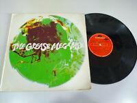 """The Grease Megamix John Travolta & Olivia Newton-John Maxi LP Vinyl 12 """" VG/VG"""