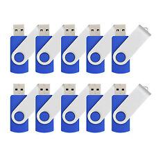 Lot 20 4GB Rotating U Disk Flash Memory Stick Enough Swivel USB Drive Pen Thumb
