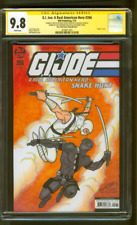 G.I. Joe 266 CGC 2XSS 9.8 Storm Shadow Snake Eyes Original art sketch 19 Variant