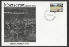 MONTSERRAT 1987 TOURISM Single GOLF Value SCARCE FDC