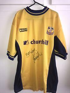*M* SIGNED 2000/01 Crystal Palace Away Football Shirt (ks)