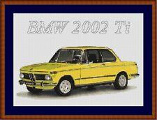 BMW 2002 Cross Stitch Chart BMW Cross Stitch