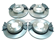 BMW E46 325 328 1998-2005 FRONT & REAR BRAKE DISCS AND PADS SET NEW
