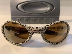 Oakley Eye Jacket Cheetah Gold iridium - Rare vintage 1994-1998