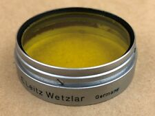 Leica SUMMARIT 1:1.5 f=5cm / LEITZ Xenon f=5cm 1:1.5 YELLOW Filter / Leitz