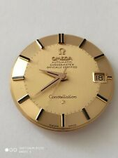 Perfect Omega Constellation Pie Pan Solid Gold 18K Dial ,561 movement.     (004)