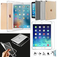 Clear Silicon Transparent TPU Slim Back Case Cover for iPad Air 234 Mini 4 Bulk