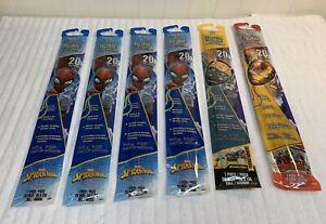 """Pack Of 6 Kites Facekite 20"""" Tall Kites Spider-Man, Ironman, Bumblebee"""