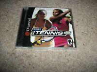 SEGA SPORTS TENNIS 2K2 - Sega Dreamcast (NTSC/U)  Very Rare - NEW & SEALED (US)