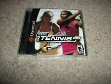 SEGA SPORTS TENNIS 2K2 - Sega Dreamcast (NTSC/U)  Very Rare - NEW & SEALED (US)