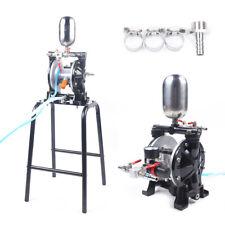 New Listingmini Pneumatic Double Diaphragm Pump Kerosene Fluids Diesel Oil Membrane Pump