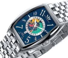 Orologio Philip Watch Gmt Automatico in Acciaio Uomo