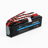 11.1V 2200mAh 8C 3S Li-poly Li-Po RC Battery for JR FUTABA FlySky Transmitter