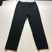 J Jill Ponte Slim Leg Black Pants Size Medium A2192