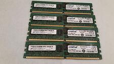 Micron 16GB 4x4GB 2Rx4 PC2-6400P DDR2-800Mhz ECC Registered Server Memory Module