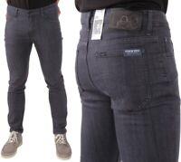 Lee Herren Jeanshose Rider Slim Blue Ash Grau W28 - W42