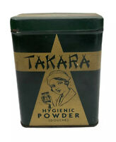 Douche Vintage Pharmacy Rare 1933 Never Opened Takara Powder Hygiene Medical