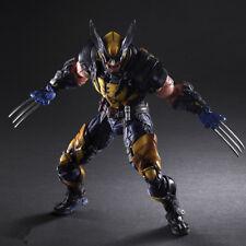 "Play Arts Kai PA Wolverine Action Figure Model New Marvel PVC 10"" Statue X-MEN !"