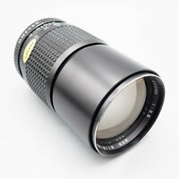 Tokina RMC 200mm f/3.5 (PK) - Tested/100% - Superb - Many Adaptor Options