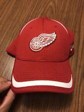 Detroit Red Wings Hockey New Era NHL Medium Large Flex Fit Hat