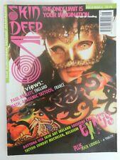 vintage 1996 skin deep tattoo magazine vol.3 #6 JOCK LIDDELL not machine