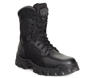 Rocky Men's Waterproof Slip/Oil Resistant Side-Zipper Work Boot 0002173