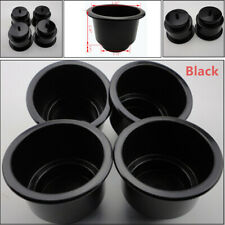 4PCS Black Boat Plastic Cup Drink Can Holder For Boat Marine RV Parts Universal