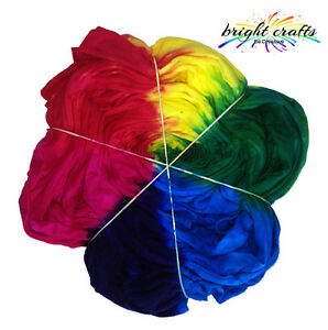3 Rainbow colours Tie Dye Kit professional fabric dyes for bright colours gift